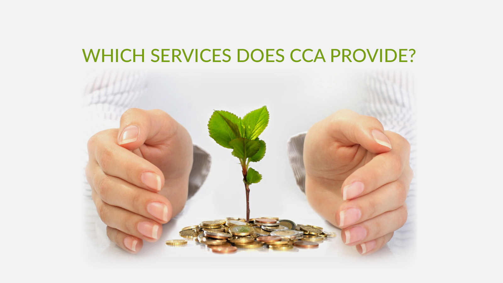 Which services does CCA provide?